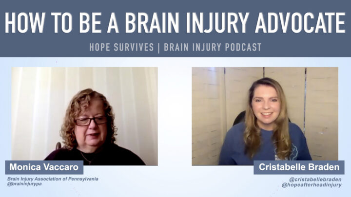 how to be a brain injury advocate